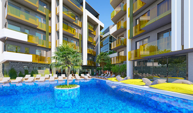 new 2+1 duplex apartment in Alanya
