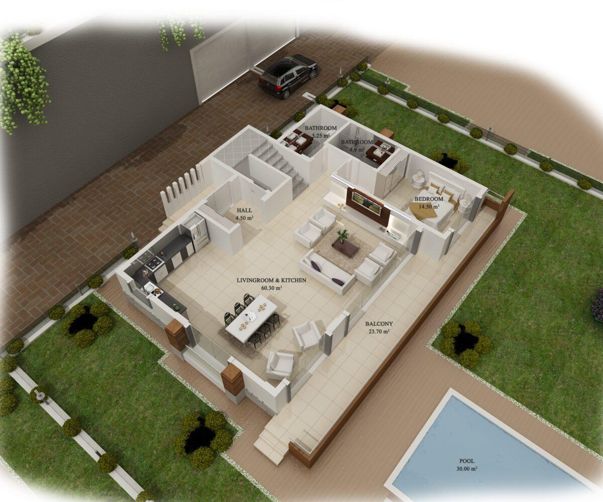 alanya villa for sale
